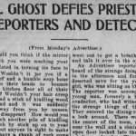 The Punchbowl Ghost