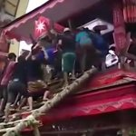 Man crushed to death by his mother's coffin during funeral: Video